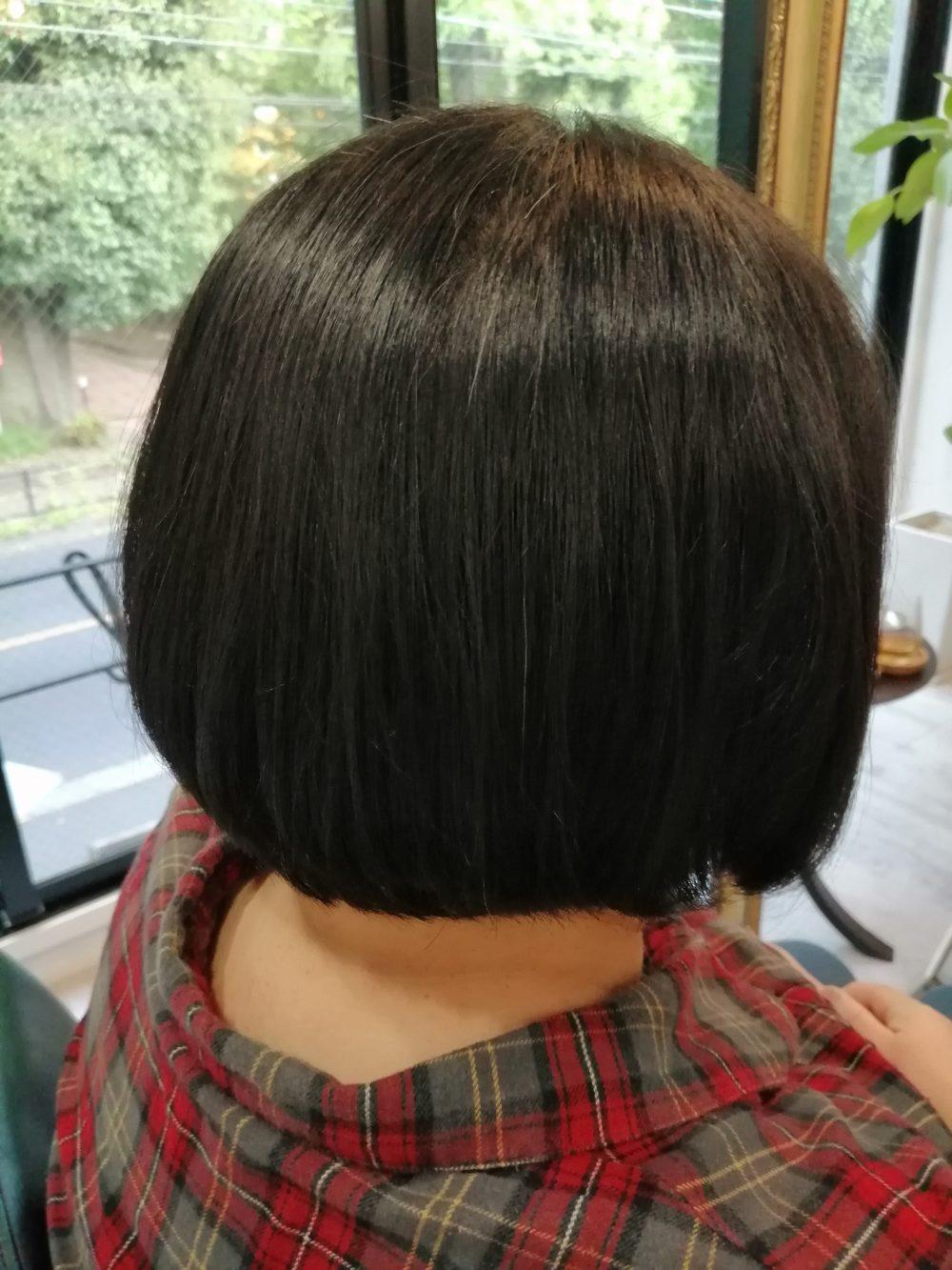 三鷹、吉祥寺、美容室、LunaetSol、髪質改善、キューティクルケア低還元トリートメン